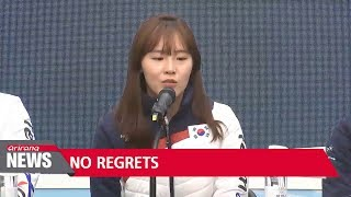 S. Korean short track speed skaters leave Winter Games with no regrets