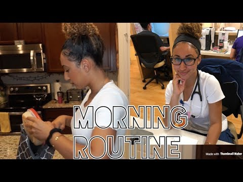 My Morning Work Routine | ER Nurse