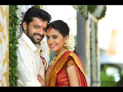 Actress Shivada Nair With Murali Krishnan Wedding Youtube