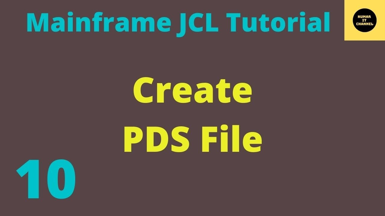 how to create a pds file