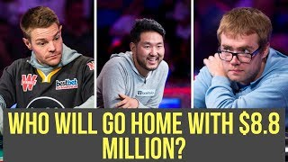 Only 3 Players Left in the 2018 WSOP Main Event