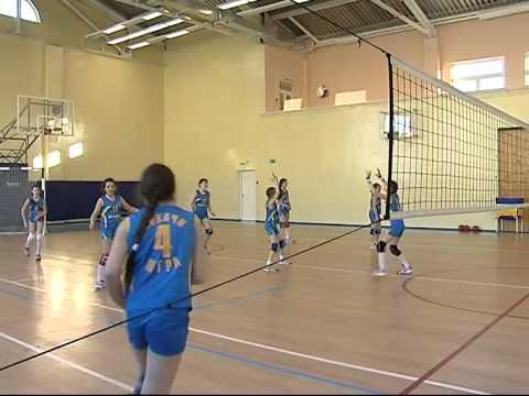 Открытый урок видео по волейболу