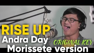 Download lagu Andra Day - Rise Up covered by Ridwan (Morissete Version) live at DJArie School