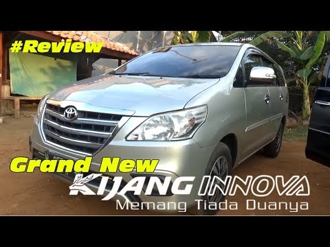 Review Grand New Kijang Innova Diesel Lampu Projector Veloz M T Type G Thn 2013 Youtube