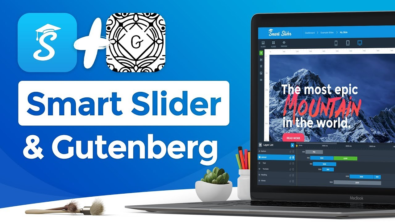 Gutenberg and Smart Slider 3: How to Add Sliders to WordPress