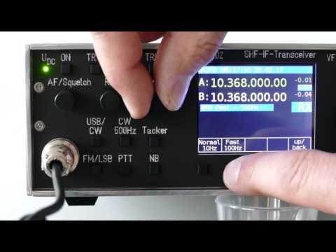 DF-202 DK2FD - Video no 1 in english - SHF-IF-Transceiver (2m-SDR