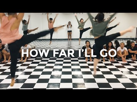 How Far I'll Go - Alessia Cara (Dance Video) | @besperon Choreography #MOANA