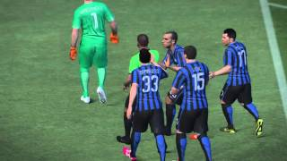 PES 2016 Online Match Part 1 [PC] [GAMEPLAY]