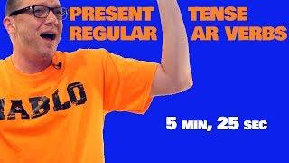 present tense regular ar verbs