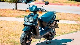 Yamaha Zuma 50 2 Stroke Test Ride Fully Built!
