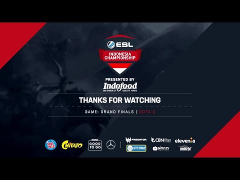 ESL Indonesia Championship AOV & Dota - GRAND FINALS [EVOS Vs SES, Aura Vs BOOM ID]