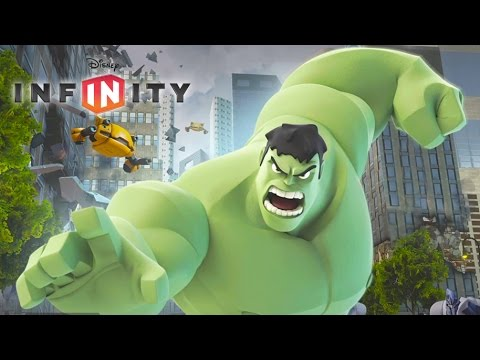 HULK Disney Infinity 2.0 Marvel Super Heroes | Hulk Games Videos for Kids