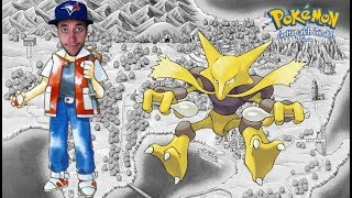Pokemon Red Nuzlocke Run! Ep.43 - Alakazam! Alakazoo!