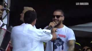 Maluma Y Silvestre Dangond Interpreta