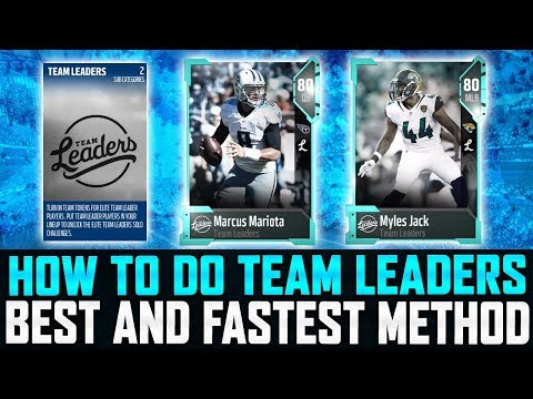 MUT 18 | How To Do Team Leaders The Best Way! | 86 Overall Team Leaders!