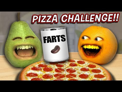 Annoying Orange - The Pizza Challenge 🍕