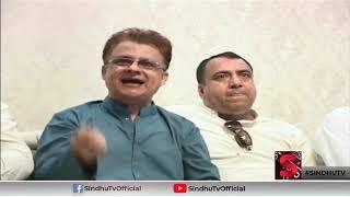 Good governance, Prosperity, Tolerance. Ayaz Palijo presents Sindh Case to Governor