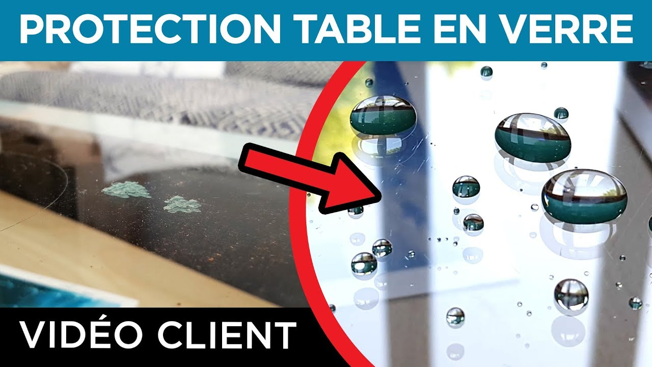 Verre Protection Table Résultat Client Protection Table Basse En Verre Traitement Nanoprotection