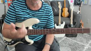 Bee Gees You Should Be Dancing Bass Tab Preview