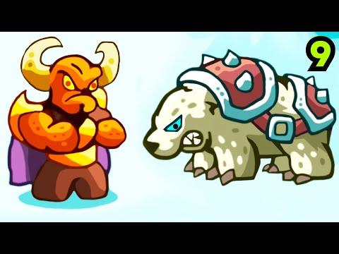 Злая магия против северных людей! - Kingdom Rush Vengeance # 9 Андроид Игры