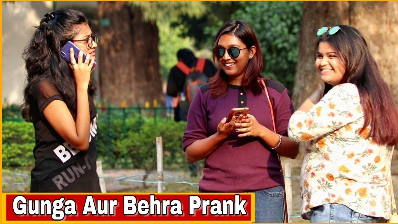 Girl Acting Deaf & Dumb Prank - Epic Reactions - Pranks In India 2019| By TCI