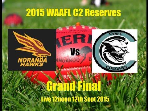 WAAFL C2 Reserves Grand Final 2015