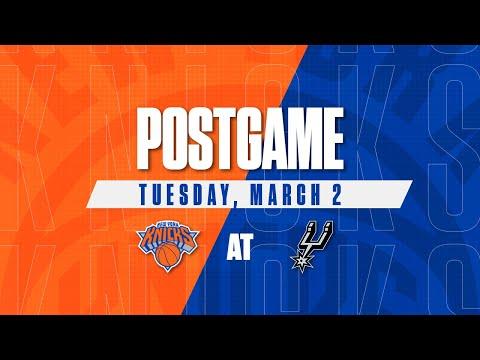 Knicks Postgame: 3/2/21