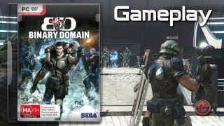 ▶ Binary Domain - Gameplay [PC, ENG]