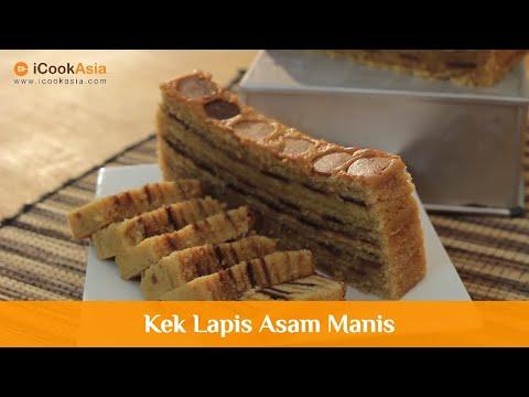 Kek Lapis Asam Manis | Try Masak | iCookAsia | Resepi Ramadan & Hari Raya