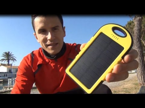 test chargeur solaire ipad