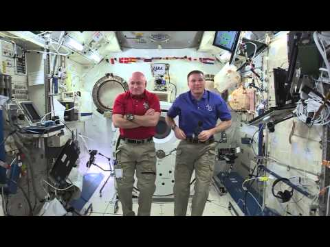 Space Station Crew Discusses Life in Space with the News Media