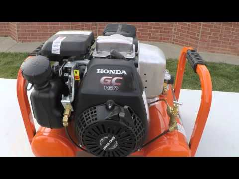 Tool Review Industrial Contractor Gas Air compressor
