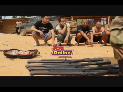 16 Chinese arrested in suspected illegal mining