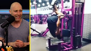 CRAZY STUPID PEOPLE IN THE GYM REACTION! | GYM FAILS!