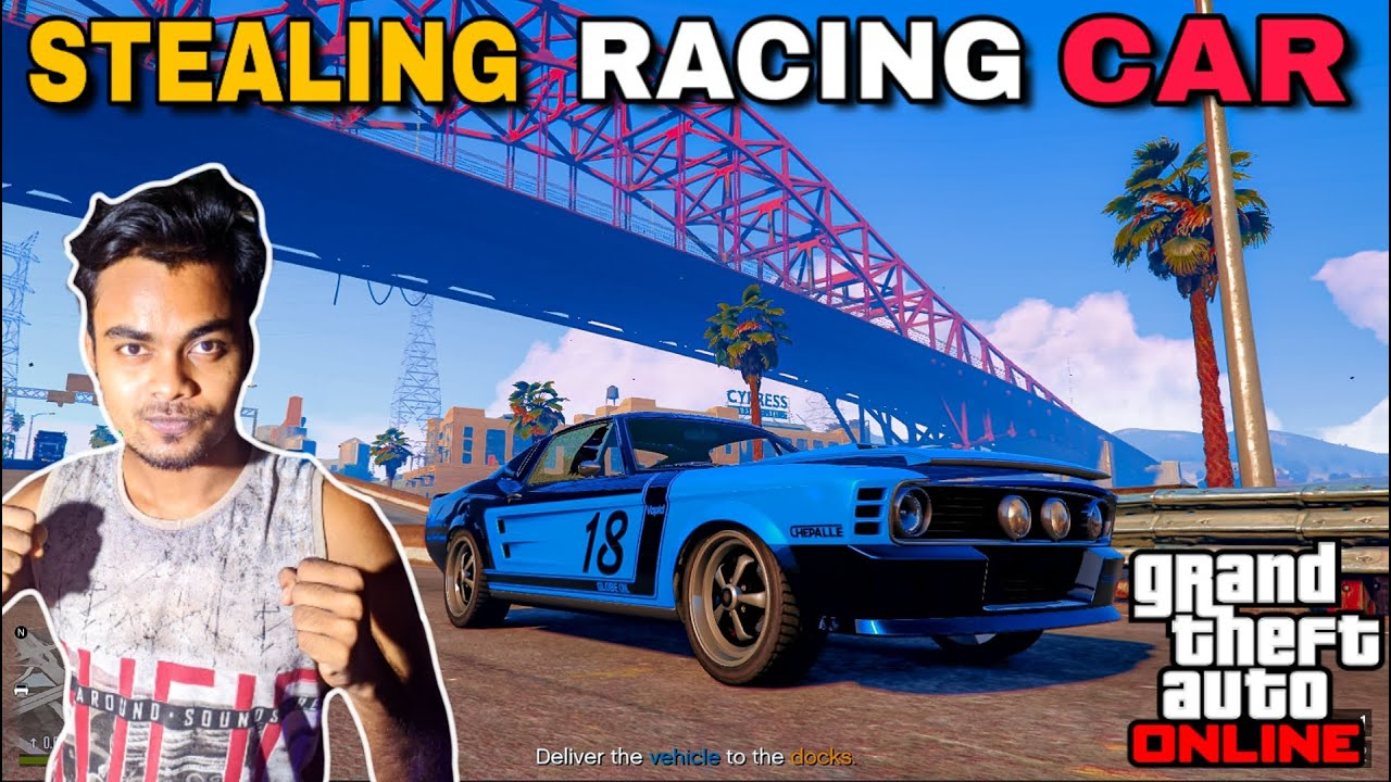 STEALING RACING CAR IN GTA ONLINE | GAMING INSECTS |