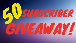 Roblox| Lumber Tycoon 2| 50 Subscriber Givaway!!|