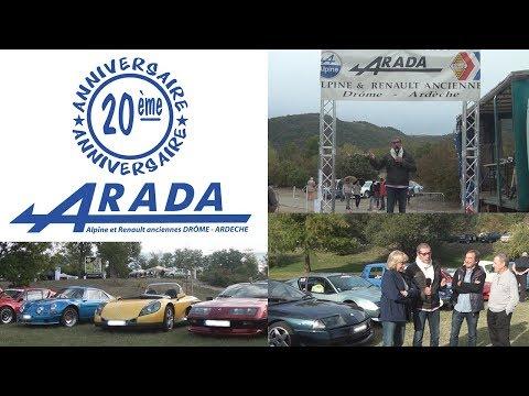 2017 09 17 Actu Sport   20ème édition de l'ARADA   Alpine et Renault Anciennes Drôme Ardèche