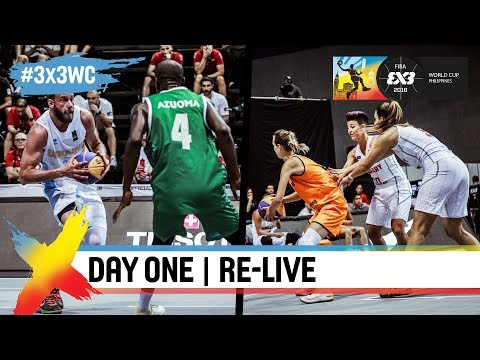 FIBA 3x3 World Cup 2018 - Pool Phase - Day 1 - Re-Live - Manila, Philippines