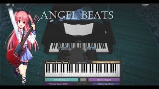Roblox Piano Angel Beats - Ichiban no Takaramono [Complet]