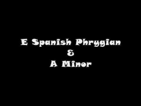 E Spanish Phrygian & A Minor Acoustic Flamenco Style Backing Track