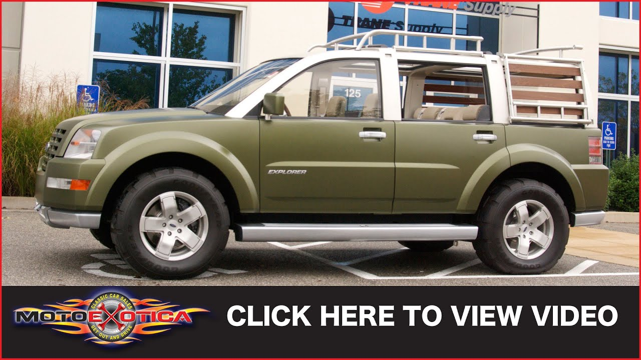 2001 ford explorer sportsman concept sold