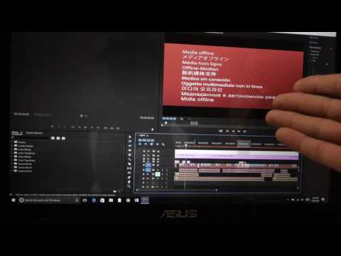 Adobe Premiere Pro CC 2017 Media Offline (update bug) EASY FIX