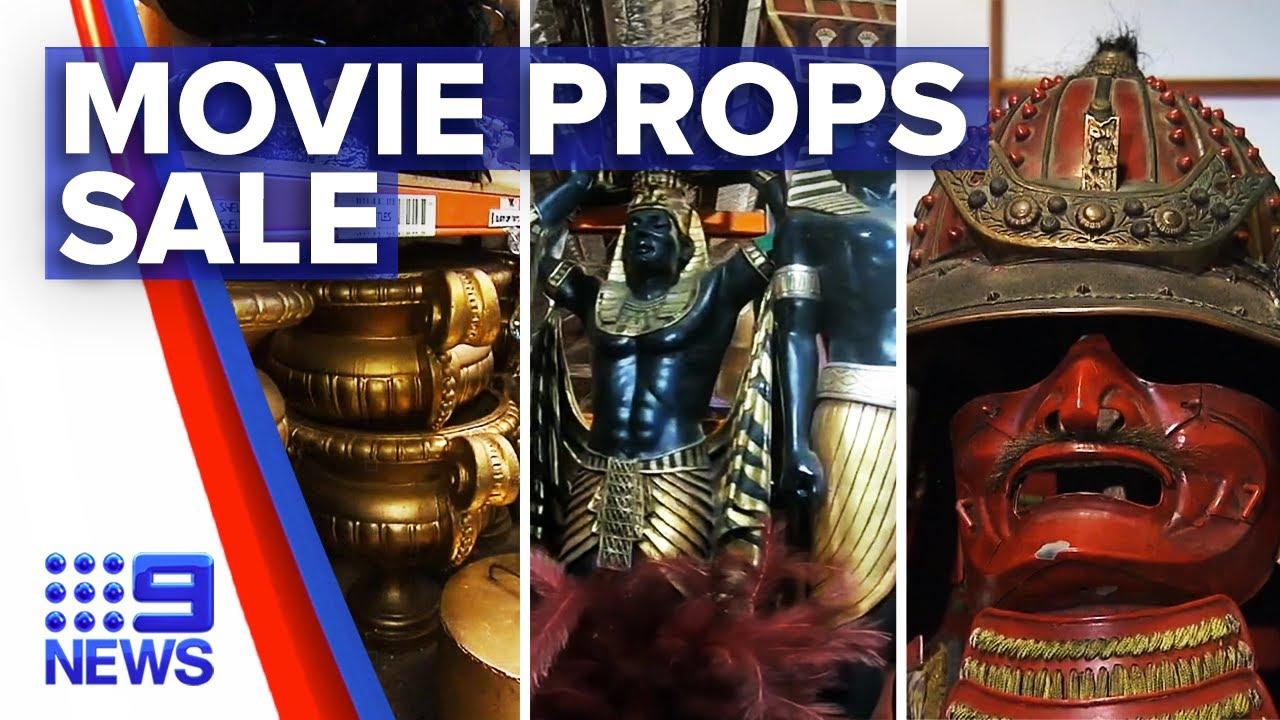Famous movie props for sale | 9 News Australia