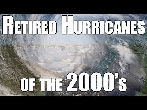 Retired Hurricanes of the 2000