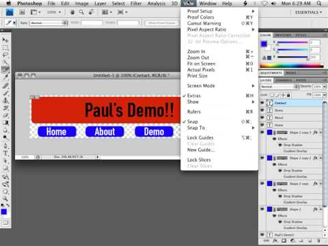 Creating an Email Newsletter in Photoshop and Dreamweaver