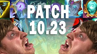 Patch 10.23 Notes | Pre Season Patch  [Deutsch]