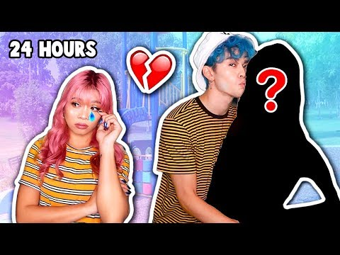 IGNORING MY GIRLFRIEND FOR 24 HOURS WITH MY *NEW* GIRLFRIEND