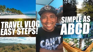 HOW TO CREATE TRAVEL VLOGS (Basic Steps!)