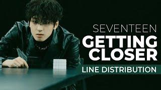 Download Lagu [Line Distribution] SEVENTEEN - Getting Closer