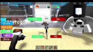 Roblox-Como se faz um bug weight simulator